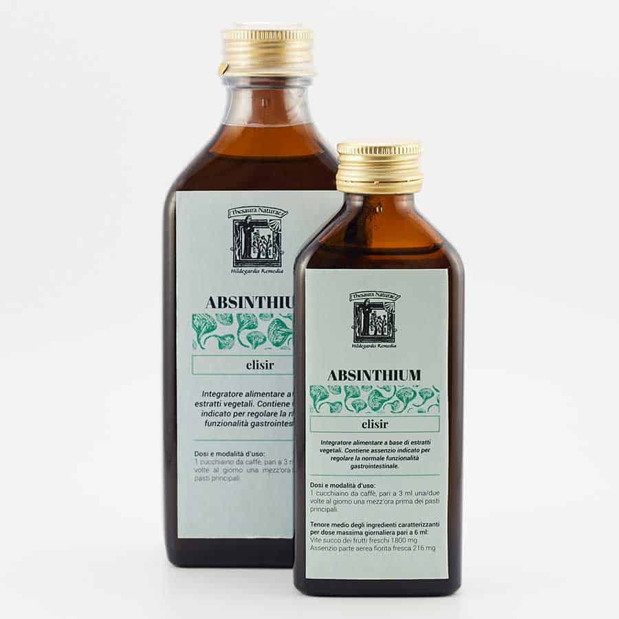 Thesaura Naturae Ildegarda Prodotti Ricette Originali Artemisia Absinthium Elisir
