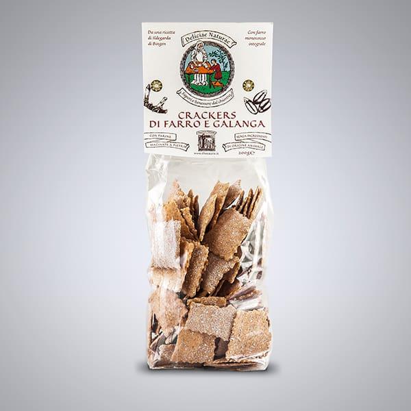 Thesaura Naturae Crackers Farro Galanga