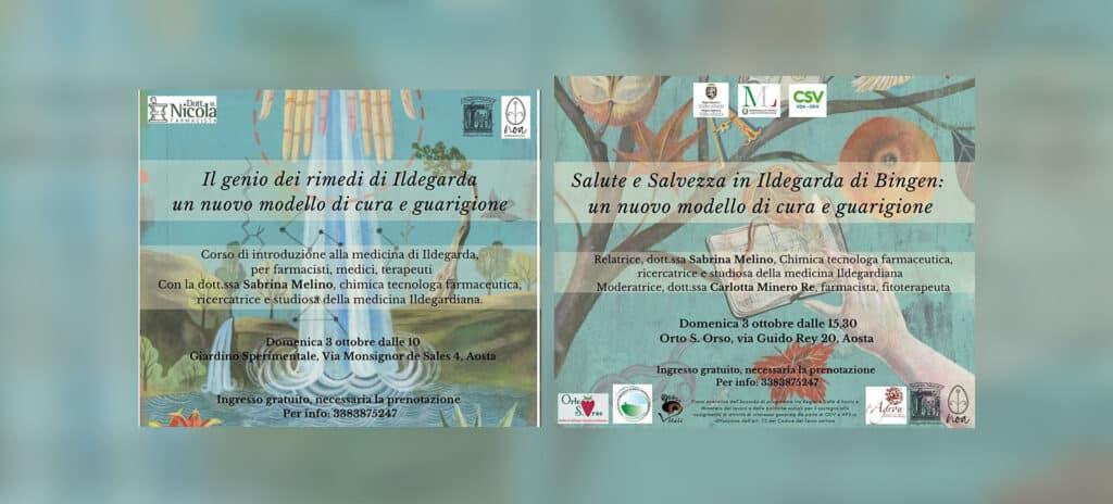 Thesaura Naturae Eventi Scoperta Ildegarda Aosta Domenica 3 Ottobre 2021