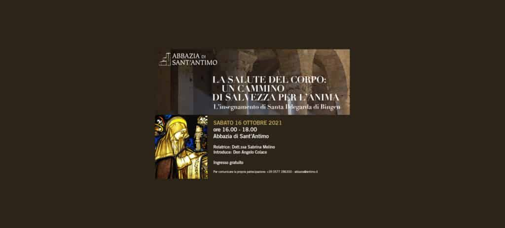 Thesaura Naturae Eventi Abbazia Santantimo Montalcino Sabato 16 Ottobre 2021